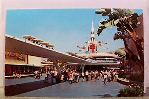 Disneyland Tomorrowland Peoplemover Postcard Old Vintage Card View Standard Post