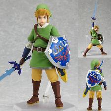 The Legend of Zelda Skyward Sword Link 6'' Action Figure PVC Model Figma Gift