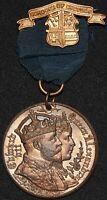1902 | Edward VII Queen Alexandra Borough Of Croydon Coronation Medal | KM Coins