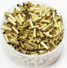 """2 x 6  MM  Brass"""" TUBE SPACER"""" Beads Hole 1.5 MM  Pkg. Of 100  Solid Raw Brass"""