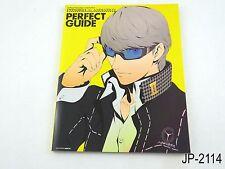 Persona 4 Anime Perfect Guide Japanese Artbook Japan Illustration Book US Seller