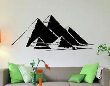 Egyptian Pyramids Vinyl Decal Egypt Sacred Symbol Vinyl Sticker Home Interior 15