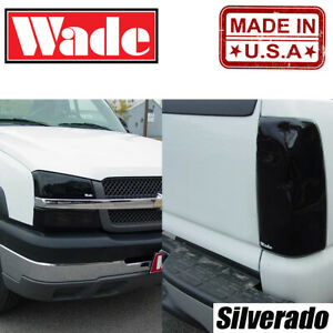 Headlight and Tail Light Covers for Chevy Silverado 03-06