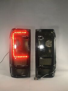 FORD RANGER YRS 83-92 & BRONCO 2 YRS 83-90 SMOKE TAIL LIGHTS Built in LED BOARD