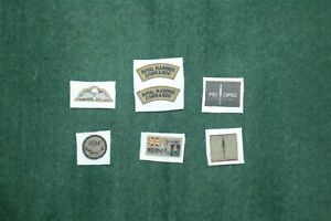 1/6 scale British Royal Marines Commando REORG Patch lot
