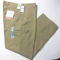 Dockers Crossover D3 Classic British Khaki Flat-Front Cargo Pants