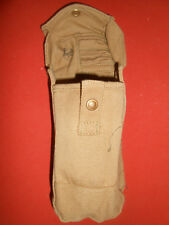 CANADIAN ARMY : WWII 1941 , BREN GUN 1 Ammo Pouch , Canvas ,  WWII 1941