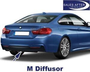 Original BMW F32 F33 F36 M Diffusor für M Heckstoßstange 425d 428i 430d