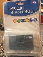 Brand New Hi-Speed Certified USB 2.0 4-Port Hub