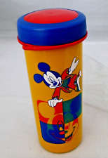 Tupperware Disney Mickey Mouse Flask Bottle Tumbler w/ Strap Red RARE New