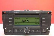 SKODA Octavia Stream Lettore CD Radio 2005 2006 2007 2008 2009 CODICE Stereo Auto
