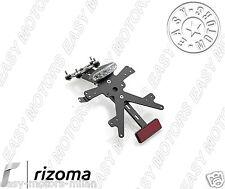 PT106B RIZOMA PORTATARGA IN ALLUMINIO NERO HONDA NC700X / XD / S / SD 2012>