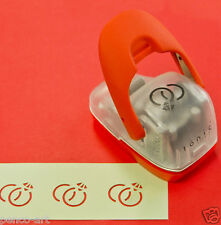 Tonic crafters simplicity power geared hole punch WEDDING RINGS card making 903E