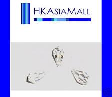 6 Swarovski Crystal Beads Teardrops 6000 11x5.5mm CLEAR