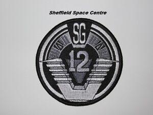 Stargate SG-1 TV Series SG-12 Team Patch P293