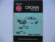 Toyota Crown MS & RS Reparaturanleitung Repair Manual original Toyota gebraucht