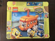 LEGO Set 3830 SpongeBob Bikini Bottom Express Empty BOX ONLY Submarine Van