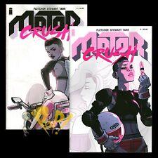 MOTOR CRUSH #1 & #2 Cover A SET Babs TARR Fletcher Stewart IMAGE Comics NM!