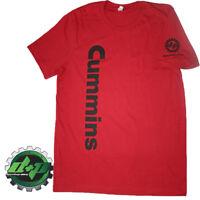 Cummins decal dodge diesel truck shirt red  t short tee 4x4 smoke MEDIUM