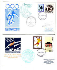 Japan - 5 Olympic Team Flight / Olympic Special Flight Covers