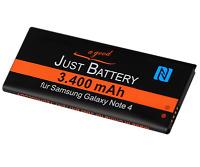 original JuBaTec Akku für Samsung Galaxy Note 4 SM-n910F EBBN910BB