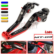 Motorcycle Adjustable Folding Brake Clutch Lever Fit YAMAHA MT-03 2015-2018 2016