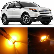 Alla Lighting Turn Signal Light 3157 Amber LED Bulb for Ford Explorer Sport Trac