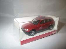 "Herpa  BMW  X3  ""FW Offenbach""  (rot-met.)  1:87  OVP ! (1)"