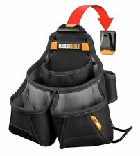TOUGHBUILT Pro Framer Pouch Tool Tools Storage Heavy Duty 9 Pocket with ClipTech