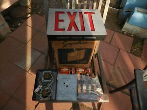 Signature Series Architectural Quality EXIT Signs Lithonia Lighting LED Die Cast