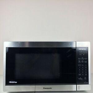 Panasonic NN-SC668S Stainless Microwave w Inverter Technology Countertop 1200W