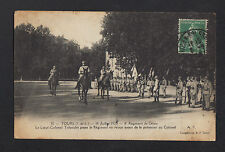 TOURS (37) Défilé du 14 Juillet 1920 , Colonel TRIBOULET du 8° Régiment du Génie