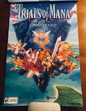 Pax West 2019 Exclusive Secret Collection Trials of Mana Poster Print Square Eni