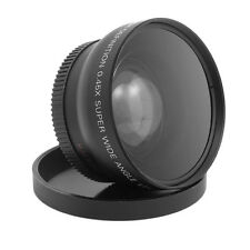 58MM 0.45 x Wide Angle Macro Lens for Nikon D3200 D3100 D5200 D5100 FT