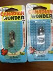 Vintage Les Davis Canadian Wonder Size 1 CHROME Qty 2