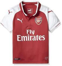a7aab13ec PUMA Arsenal FC 2017/18 Home Shirt Junior Football Replica Red 13 Years