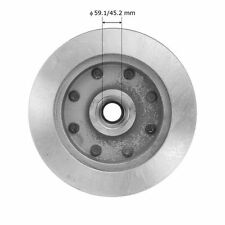 Disc Brake Rotor and Hub Assembly-RWD Front 5415 fits 75-78 Ford F-250