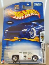 Hot Wheels 2003 FIRST EDITIONS - CHAP ARRAL [WHITE] NEAR MINT VHTF