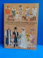 1981 Lettie Lane Paper Dolls- Reproductions- Uncut- 24 Paper Dolls
