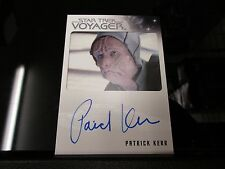 Star Trek Voyager Heroes & Villains - Patrick Kerr as Bothan Autograph