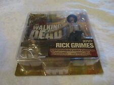 McFarlane Toys AMC The Walking Dead TV Series 2 Deputy Rick Grimes Short Card BC