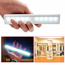 LED Lampe Veilleuse Capteur de Mouvement PIR Sans fil Tiroir Cabinet Garde-robe