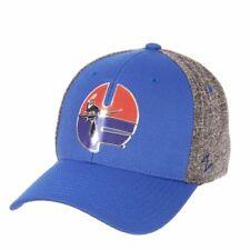 """Florida Gators Zephyr Blue & Gray """"Insignia"""" Vault UF Stretch Fit Hat Cap (L/XL)"""