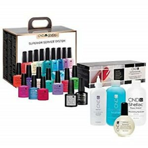 CND Shellac Superior Service System ~THE COMPLETE STARTER KIT~
