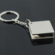 Tragbares Metall Maßband Maßband Multifunktionaler Schlüsselanhänger Neu
