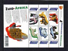 Nederland NVPH 2844-49b Vel Grenzeloos Nederland Zuid Afrika 2011 Postfris