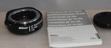 Bonito Nikon AF tele-convertertc 16a con instrucciones