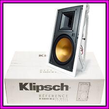 """BRAND NEW Klipsch R-5800-W 8"""" II In-Wall Speaker White Grille"""