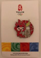 2008 Beijing Olympic Games Mascot Pin Red New in package