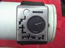 interesting cv always ahead of time b.i.i. Ht-79 wrist watch uni-sex leather ban